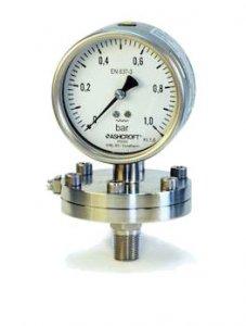 تصویر یک گیج فشار دیافراگمی