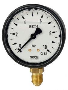 گیج فشار بوردن تیوب ویکا مدل 113.13