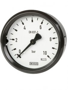 گیج فشار بوردن WIKA مدل 111.26