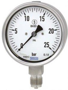 گیج فشار بوردن WIKA مدل 232.30