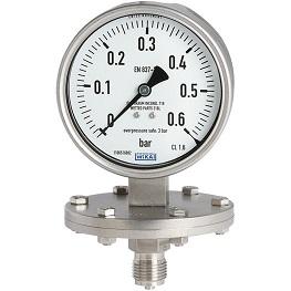 گیج فشار دیافراگمی برند ویکا مدل 432.50 و 433.50