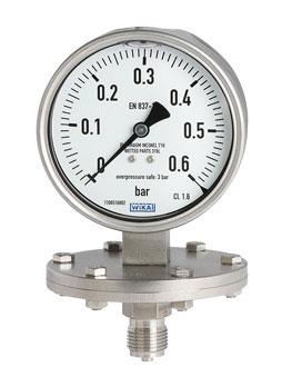 گیج فشار دیافراگمی برند ویکا مدل433.50