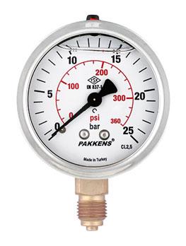 گیج فشار پکنز مدل MG063-156