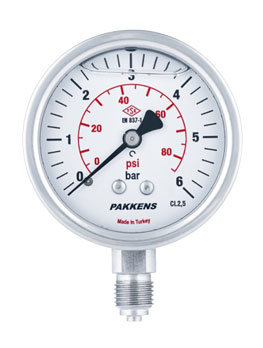 گیج فشار پکنز مدل MG063-170