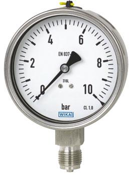 گیج فشار بوردن WIKA مدل 232.50-233.50