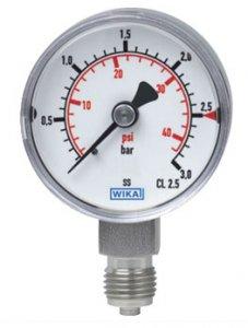 گیج فشار بوردن از ویکا مدل 131.11