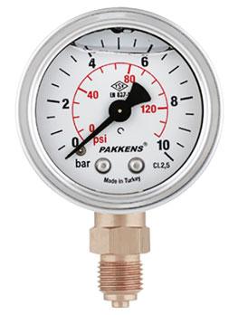 گیج فشار پکنز مدل MG050-155