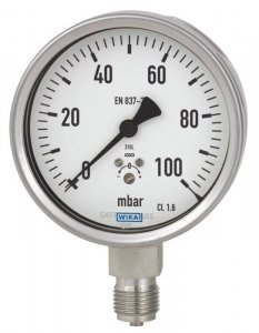 یک نمونه گیج فشار کپسولی